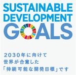 世界を変えるための17の目標 SUSTAINABLE DEVELOPMENT GOALS