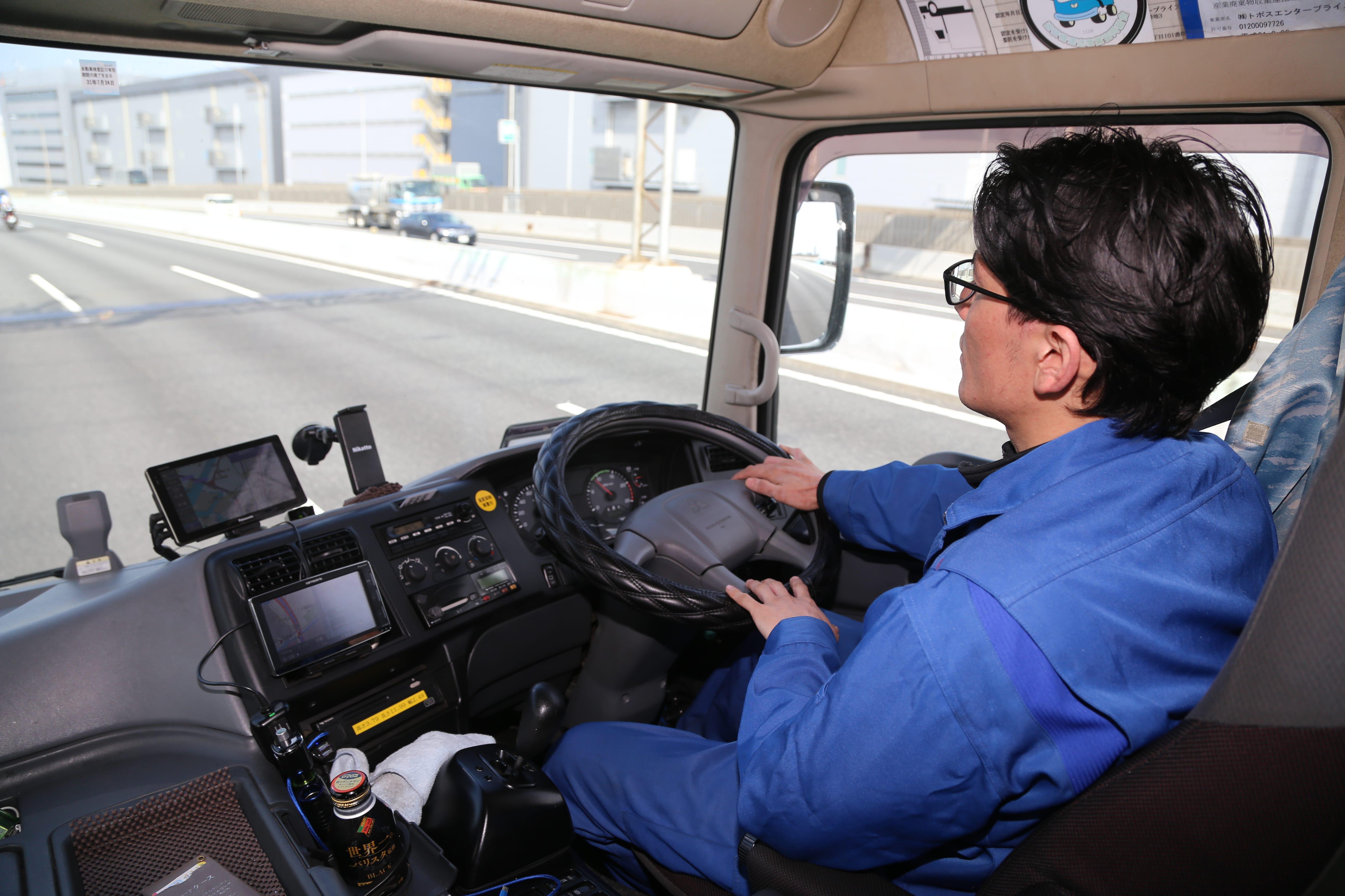 ドライバー運転風景